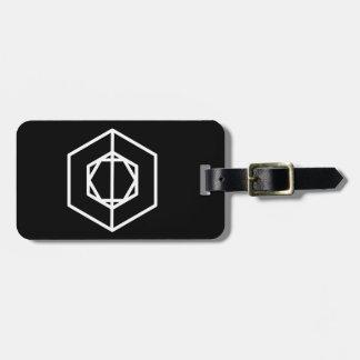 Etiqueta De Bagagem Tag do soldado (-)/bagagem com correia de couro