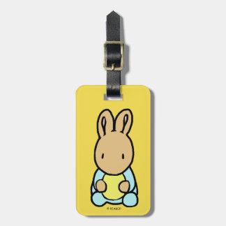 Etiqueta De Bagagem Tag doce da bagagem do coelho