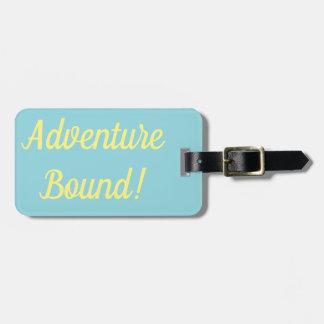 Etiqueta De Bagagem Tag encadernado da bagagem da aventura