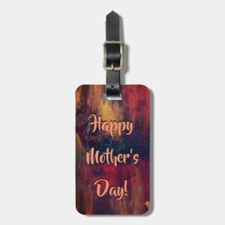 Etiqueta De Bagagem Tag feliz da bagagem do dia das mães pelo DAL