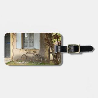 Etiqueta De Bagagem Tag francês da bagagem da casa