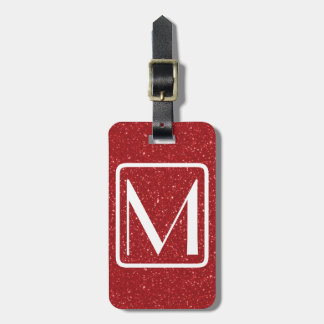 Etiqueta De Bagagem Tag Monogrammed parisiense do saco do viagem do