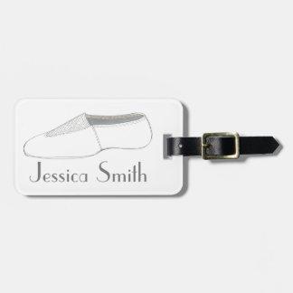Etiqueta De Bagagem Tag personalizado do saco da dança dos calçados de