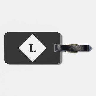 Etiqueta De Bagagem Tag preto personalizado da bagagem da cor contínua