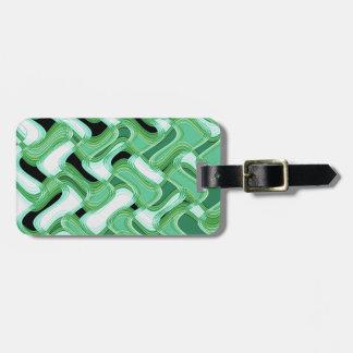 Etiqueta De Bagagem Tag prudente & do marfim da bagagem com correia de