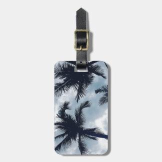 Etiqueta De Bagagem Tag tropical da bagagem