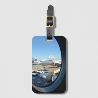 Etiqueta De Bagagem Tag unido da bagagem do plano de ar