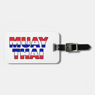 Etiqueta De Bagagem Tailandês de Muay