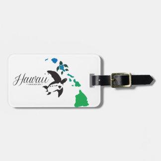 Etiqueta De Bagagem Tartaruga de mar 9 de Havaí