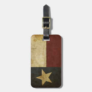 Etiqueta De Bagagem Texas