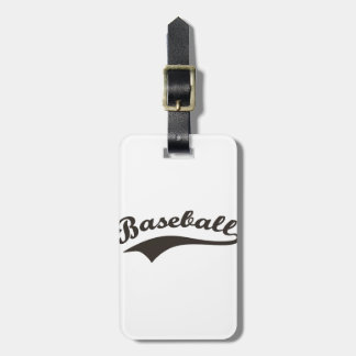 Etiqueta De Bagagem Texto do basebol