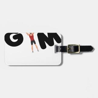 Etiqueta De Bagagem Textos engraçados do Gym