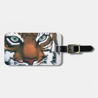 Etiqueta De Bagagem Tigre majestoso