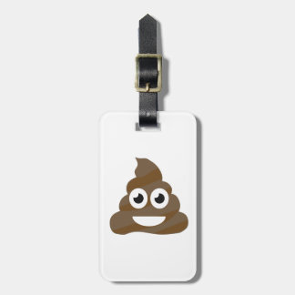 Etiqueta De Bagagem Tombadilho bonito engraçado Emoji
