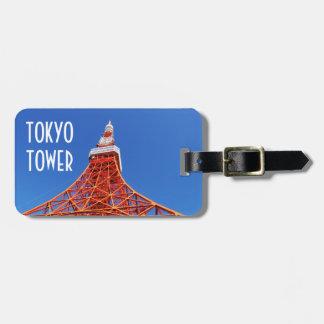 Etiqueta De Bagagem Torre de Tokyo