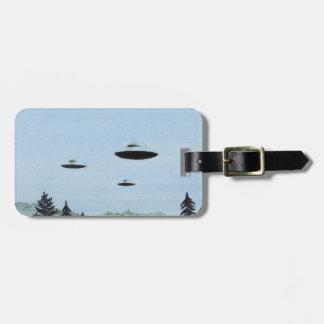 Etiqueta De Bagagem Trio do UFO