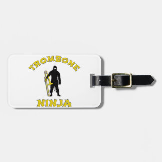 Etiqueta De Bagagem Trombone Ninja