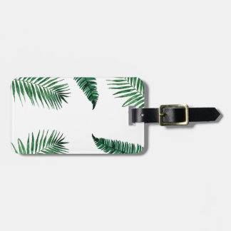 Etiqueta De Bagagem tropical