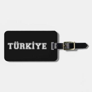 Etiqueta De Bagagem Türkiye