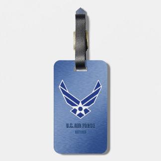 Etiqueta De Bagagem U.S. Tag aposentado força aérea da bagagem
