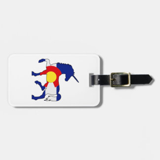 Etiqueta De Bagagem Unicórnios e Colorado!