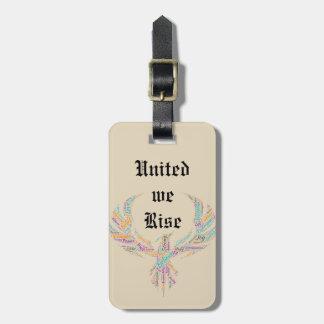 Etiqueta De Bagagem Unido nós aumentamos Tag da bagagem de Phoenix