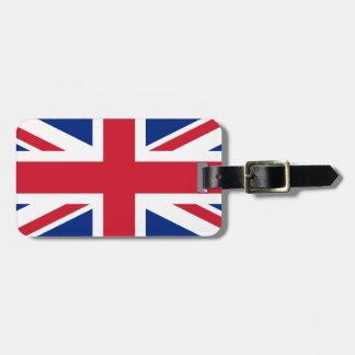 Etiqueta De Bagagem Union Jack