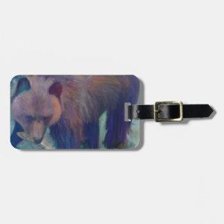 Etiqueta De Bagagem Urso de Alaska