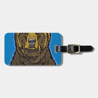 Etiqueta De Bagagem Urso de urso