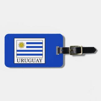 Etiqueta De Bagagem Uruguai