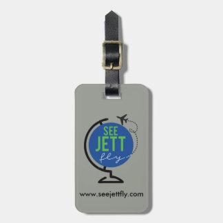 Etiqueta De Bagagem Veja a mosca de Jett - Tag da bagagem e do saco
