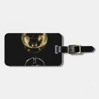 Etiqueta De Bagagem vidro do champanhe
