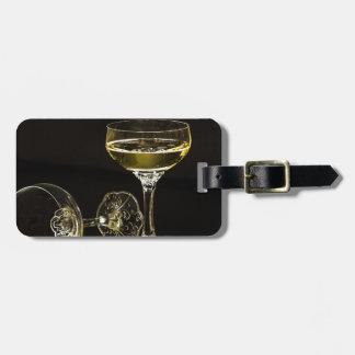 Etiqueta De Bagagem vidros do champanhe