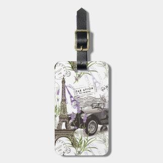 Etiqueta De Bagagem Vintage Paris