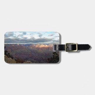 Etiqueta De Bagagem Vista panorâmica do Grand Canyon