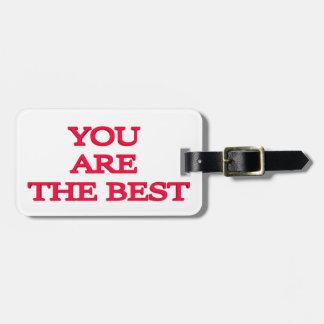 Etiqueta De Bagagem Você é o melhor