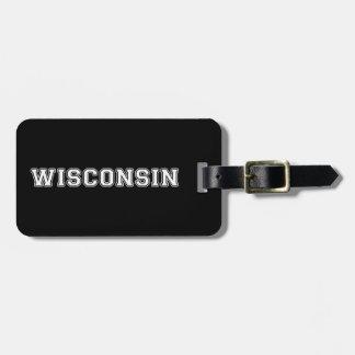 Etiqueta De Bagagem Wisconsin