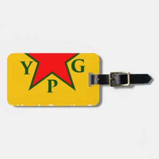 Etiqueta De Bagagem ypg-ypj - kobani do apoio