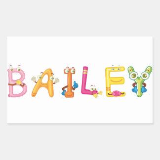 Etiqueta de Bailey