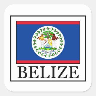 Etiqueta de Belize