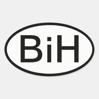 Etiqueta de BiH (Bósnia & Herzegovina)