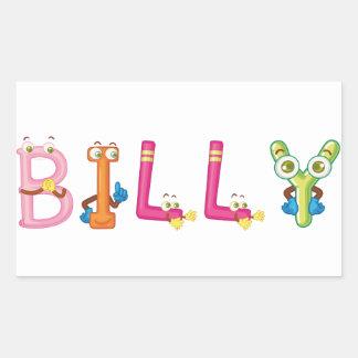 Etiqueta de Billy