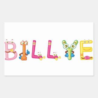 Etiqueta de Billye
