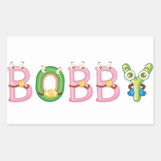 Etiqueta de Bobby