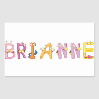 Etiqueta de Brianne