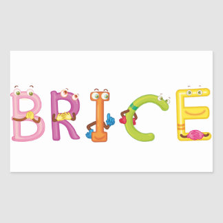 Etiqueta de Brice