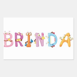 Etiqueta de Brinda