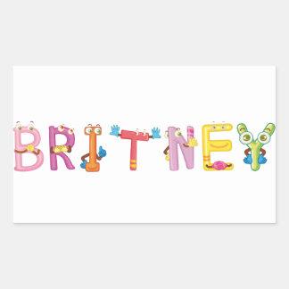 Etiqueta de Britney