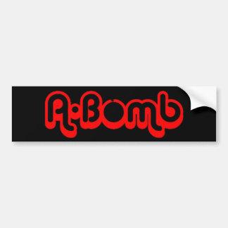 Etiqueta de Bumber da bomba atómica Adesivo Para Carro