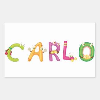 Etiqueta de Carlo